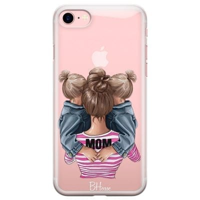Mom Of Girl Twins Case iPhone 7/8