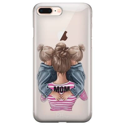 Mom Of Girl Twins Case iPhone 7 Plus/8 Plus