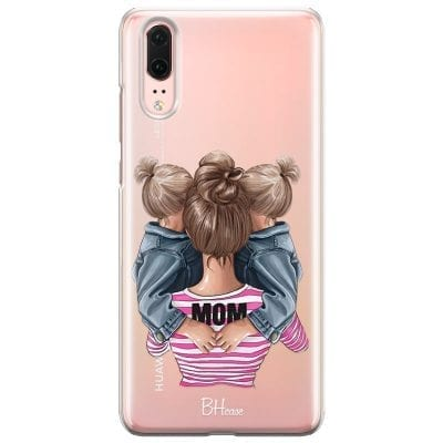 Mom Of Girl Twins Case Huawei P20