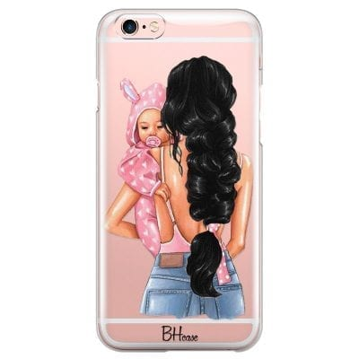 Mother Black Haired With Girl Case iPhone 6 Plus/6S Plus