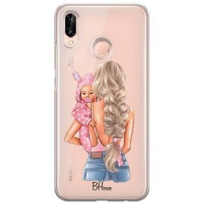 Mother Blonde With Girl Case Huawei P20 Lite/Nova 3E