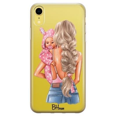 Mother Blonde With Girl Case iPhone XR