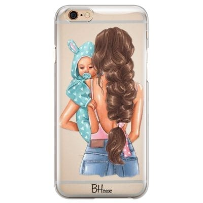 Mother Brunette With Boy Case iPhone 6 Plus/6S Plus