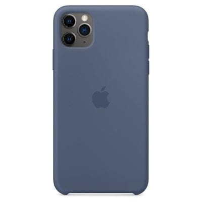 Apple Alaskan Blue Silicone Case iPhone 11 Pro