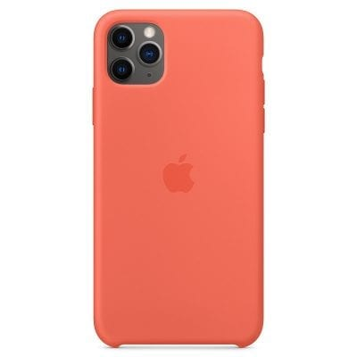 Apple Clementine Orange Silicone Case iPhone 11 Pro