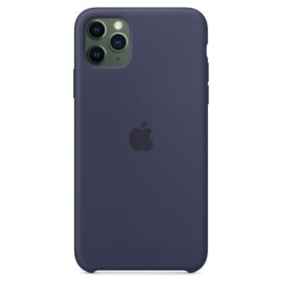 Apple Midnight Blue Silicone Case iPhone 11 Pro