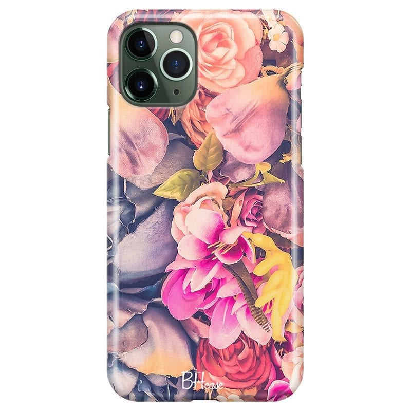 Colorful Flowers Case iPhone 11 Pro