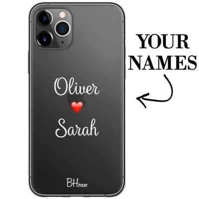 Case with double name for iPhone 11 Pro