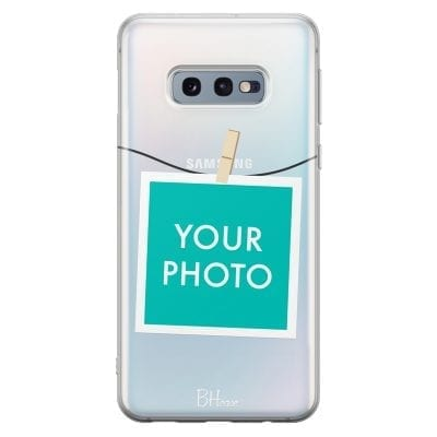 Case with photo in frame for Samsung S10e