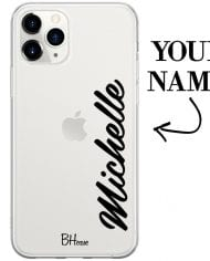 Case with vertical name for iPhone 11 Pro