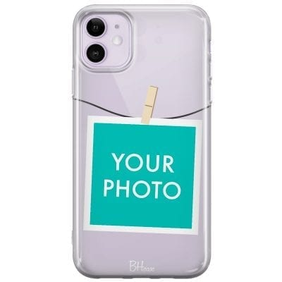 Case with photo in frame for iPhone 11