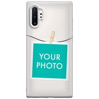 Case with photo in frame for Samsung Note 10 Plus