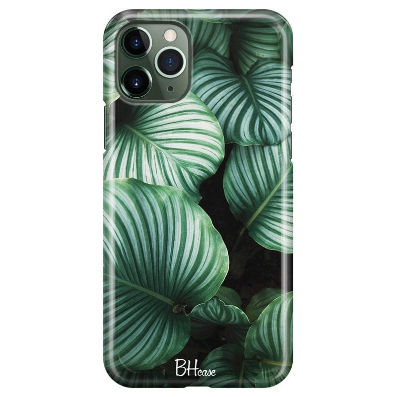 Green Leaves Case iPhone 11 Pro