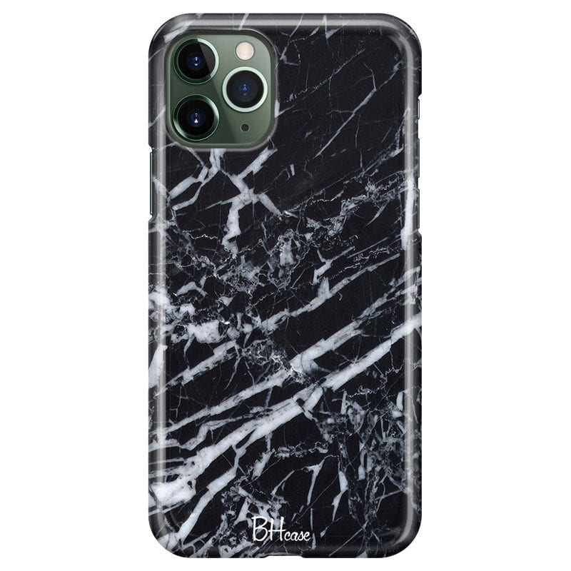 Marble Black Case iPhone 11 Pro