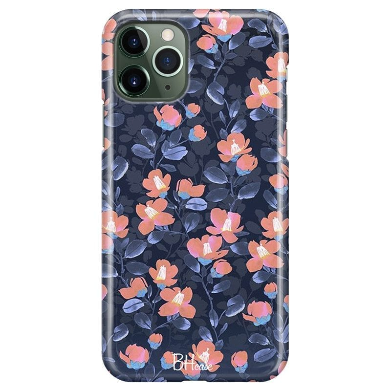 Midnight Floral Case iPhone 11 Pro