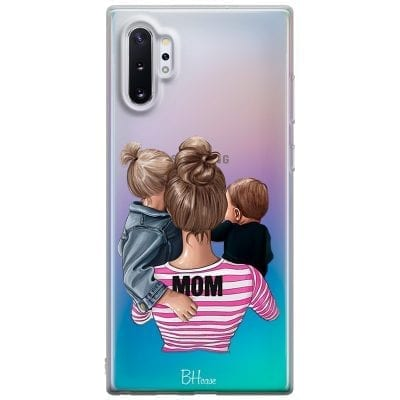 Mom Of Boy And Girl Case Samsung Note 10 Plus