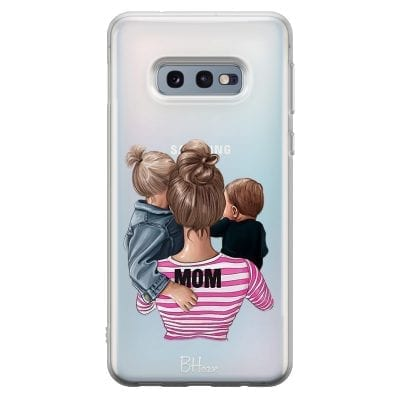 Mom Of Boy And Girl Case Samsung S10e
