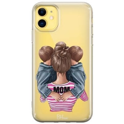 Mom Of Boy Twins Case iPhone 11