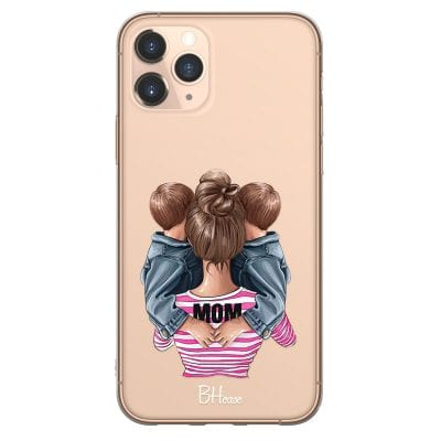Mom Of Boy Twins Case iPhone 11 Pro