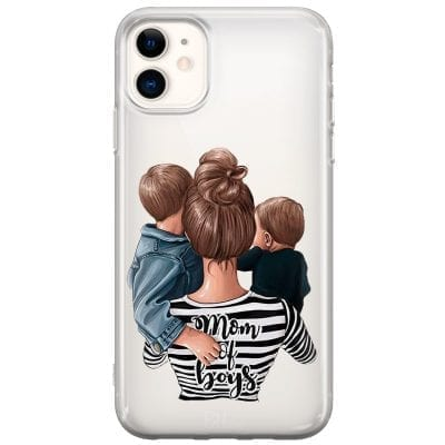 Mom of Boys Case iPhone 11