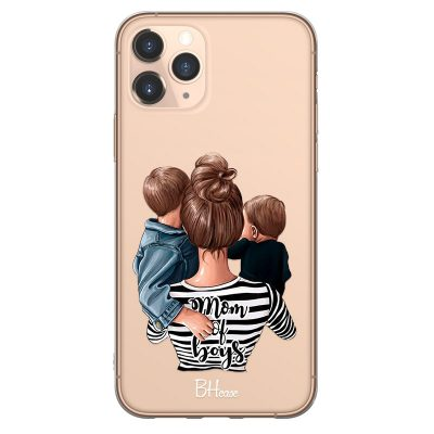 Mom of Boys Case iPhone 11 Pro
