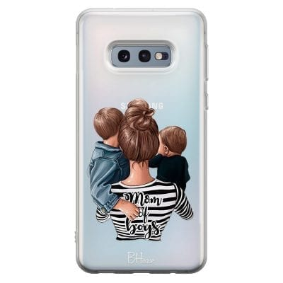 Mom of Boys Case Samsung S10e