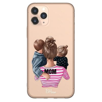 Mom Of Girl And Boy Case iPhone 11 Pro