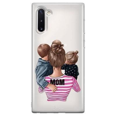 Mom Of Girl And Boy Case Samsung Note 10