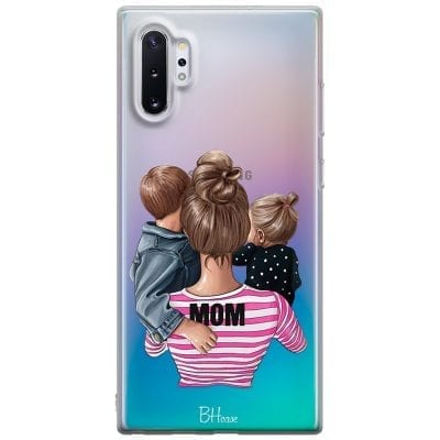 Mom Of Girl And Boy Case Samsung Note 10 Plus
