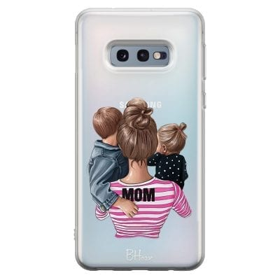 Mom Of Girl And Boy Case Samsung S10e