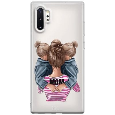 Mom Of Girl Twins Case Samsung Note 10 Plus