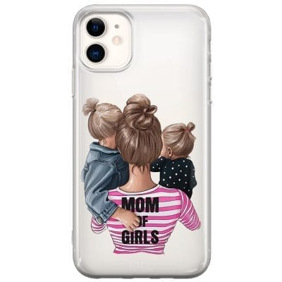 Mom of Girls Case iPhone 11