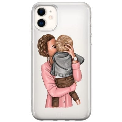 Mom With Baby Case iPhone 11