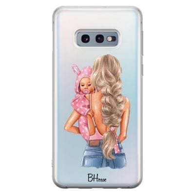 Mother Blonde With Girl Case Samsung S10e