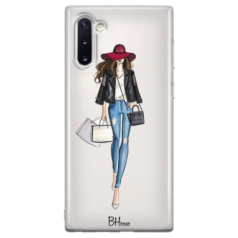 Shopping Girl Case Samsung Note 10