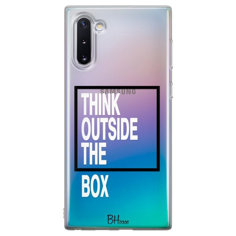 Think Outside The Box Case Samsung Note 10