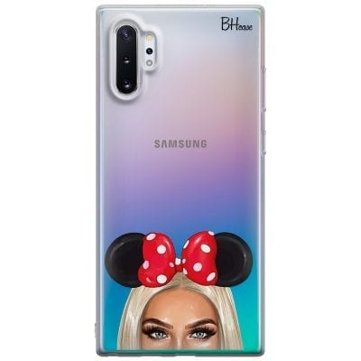 Blonde Girl With Ribbon Case Samsung Note 10 Plus