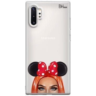 Redhead Girl With Ribbon Case Samsung Note 10 Plus