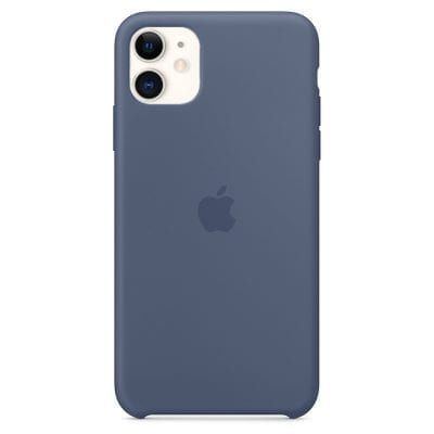 Apple Alaskan Blue Silicone Case iPhone 11