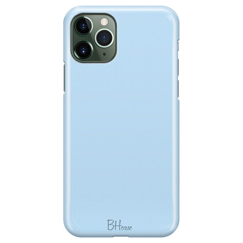 Baby Blue Color Case iPhone 11 Pro