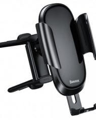 Baseus Future Gravity Car Mount Holder Black – For Round Air Outlet