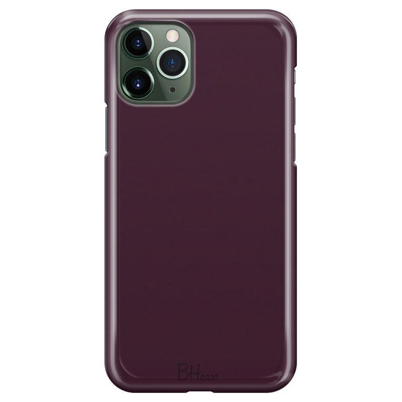 Blood Red Color Case iPhone 11 Pro