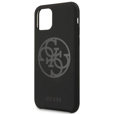 Guess 4G Tone on Tone Black Case iPhone 11
