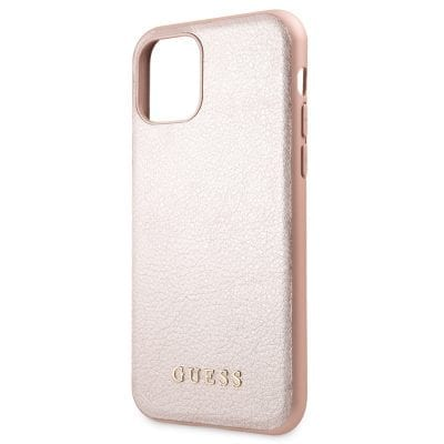 Guess Iridescent Pink Case iPhone 11