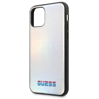 Guess Iridescent Silver Case iPhone 11 Pro Max