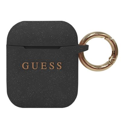 Guess AirPods Silicone Case Black