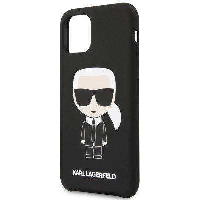 Karl Lagerfeld Iconic Silicone Black Case iPhone 11 Pro