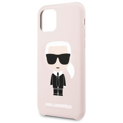Karl Lagerfeld Silicone Pink Case iPhone 11
