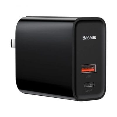 Baseus Adapter Quick Charge USB Type-C Black