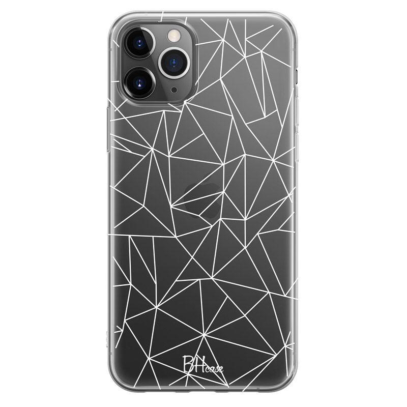Lines White Net Case iPhone 11 Pro Max